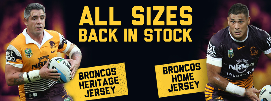 Jerseys back in stock